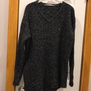 Athleta northern lights asymmetrical sweater!